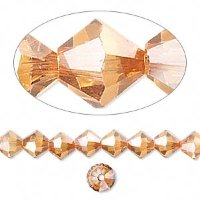 5328 SW биконус Crystal Copper (001 COP) 4мм (10шт.)